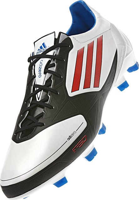 adidas f50 adizero white black red