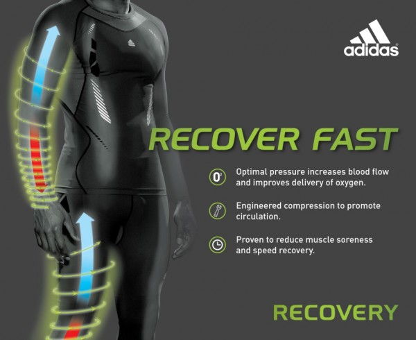 Adidas TechFit Recovery Compression - SoccerReviews.com