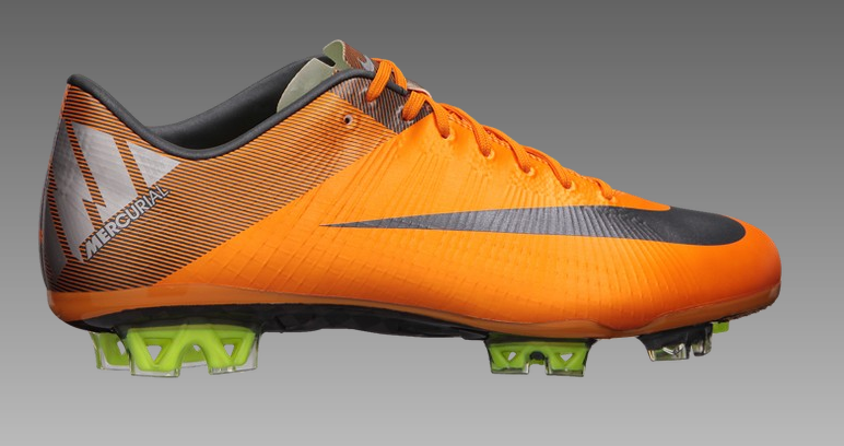 nike mercurial vapor superfly iii orange metallic gray. Black Bedroom Furniture Sets. Home Design Ideas